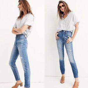 // madewell rigid skinny jeans //